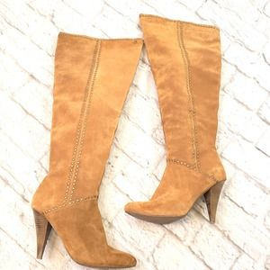 Steve Madden Brown Suede Over-the-knee  Boots